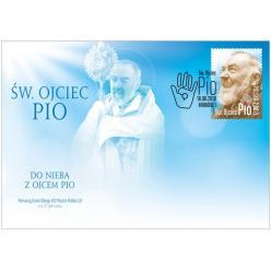 В Польше представили марку и конверт «Святой отец Пио»