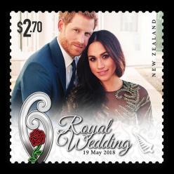 В Новой Зеландии выпущены монета и марка в честь королевской свадьбы