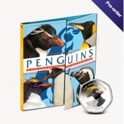 Серия монет «Пингвины Фолклендских островов» пополнилась новой монетой