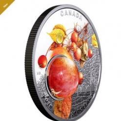 На новой канадской монете изображена капля утренней росы