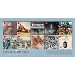Новая Зеландия представила марки посвященные жизни военнослужащих после Первой мировой войны