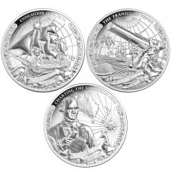 Острова Кука выпустят коллекционные монеты в честь своего первооткрывателя