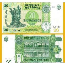 В Молдавии в денежном обращении зафиксированы банкноты нового типа