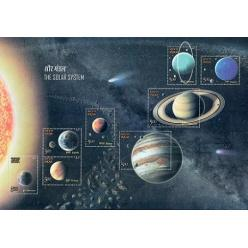 Индия выпустила марки с изображениями планет