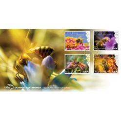 Почта Греции выпустила серию марок к Всемирному дню пчёл