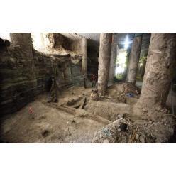 «Епицентр» помогает археологам законсервировать раскопки на Почтовой
