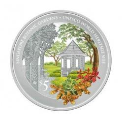 В Сингапуре отчеканена монета с изображением национальных Ботанических Садов