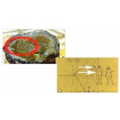 В Индонезии археологи нашли древний камень с картой Солнечной системы