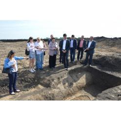 На Кропивнитчине обнаружена деревянная конструкция скифской гробницы