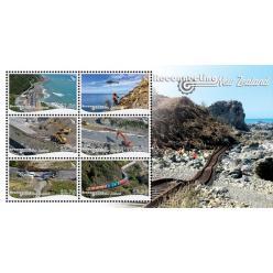 Новая Зеландия выпустила марки в честь реконструкций после землетрясений