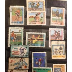 Шовковский представил интересную коллекцию футбольных марок