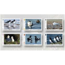 Остров Мэн выпустил «птичью» серию почтовых марок