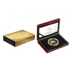 В Австралии отчеканена золотая монета с изображением карты мира 1812 года