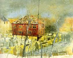 Картина Питера Дойга выставлена на аукцион