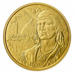 У Канаді випущена монета на честь 250-річчя національного героя Текумсе