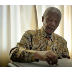 Рисунки Нельсона Манделы выложены в открытый доступ