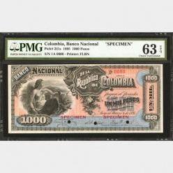 Коллекция колумбийских банкнот «Eldorado Collection» была продана за $1,1 млн