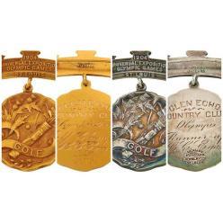 У США на аукціоні з'явилися дві рідкісні олімпійські медалі за гольф