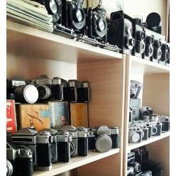 В Виннице коллекционер откроет музей фотоаппаратов
