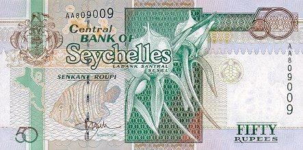 Сейшелы выводят из обращения банкноты старого образца