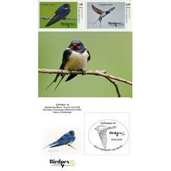 В Люксембурге пройдет международная выставка орнитологических марок