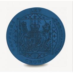К юбилею коронации Елизаветы II компания Pobjoy отчеканила памятную монету