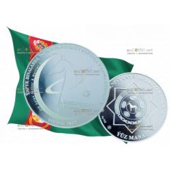 Комплект из двух памятных монет выпустил Центральный банк Туркменистана