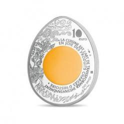 Монеты в форме куриного яйца — это не сказка