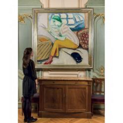 Картина голландского художника Кеса ван Донгена «Чтение» выставлена на аукцион Leclere