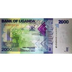 Обновлена угандийская купюра номиналом 2 000 шиллингов