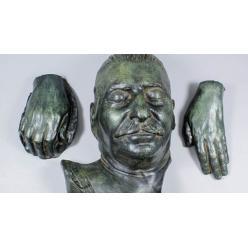 На аукционе за $17 300 продана посмертная маска Сталина