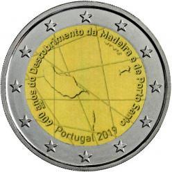 Монета в честь острова Мадейра будет выпущена в Португалии