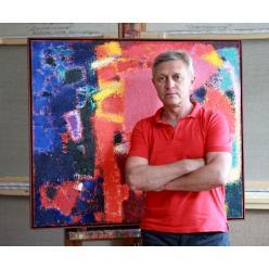 В Киеве откроется выставка известного абстракциониста Петра Лебединца «Иллюзия»