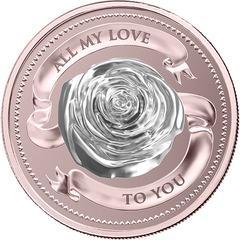  В Швейцарии выпущена монета-подарок для влюбленных