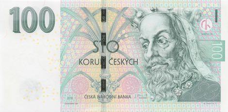 Чешская Республика выпустила в обращение две обновленные банкноты номиналом 100 и 200 крон