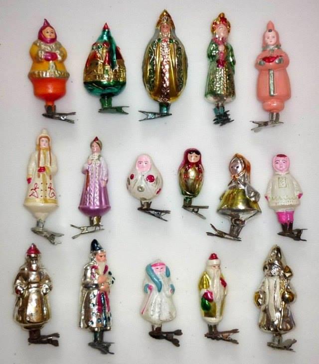 советские новогодние игрушки