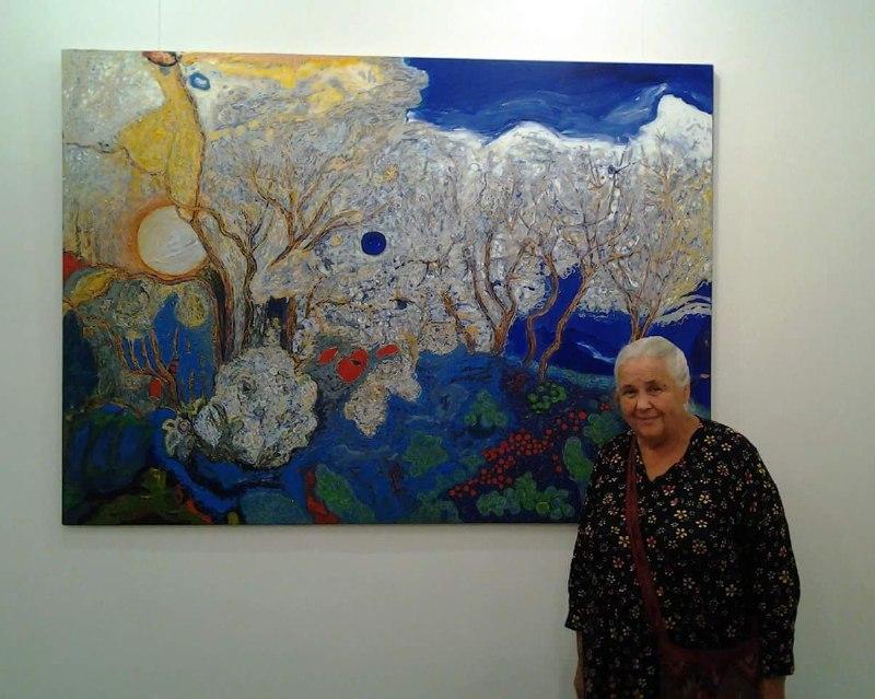 Выставка Нины Бондаренко в Энергодаре