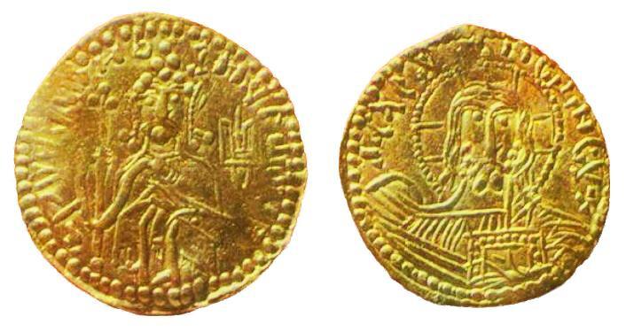 Златники изготовлялись из высокопробного золота