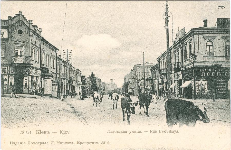 С 1869 года эта улица Киева известная под официальным названием Львовская. В 1925 году переименована в улицу Троцкого; в 1929 –1941 и от 1944 до 2014-го – Артема, ныне – Сечевых Стрельцов.