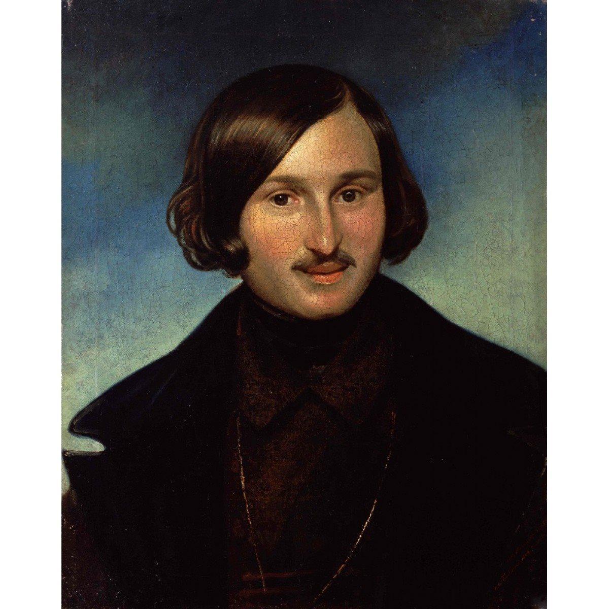 Широко известный портрет Гоголя кисти Моллера, находящийся в Государственной Третьяковской галерее, является авторской копией портрета, написанного для матери писателя.
