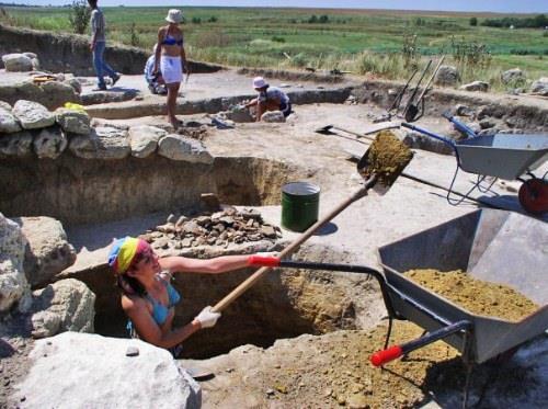Розкопки давньогрецького городища Артезіан
