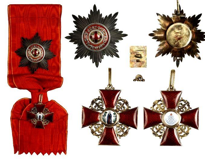 Орден Святой Анны. Аверс и реверс