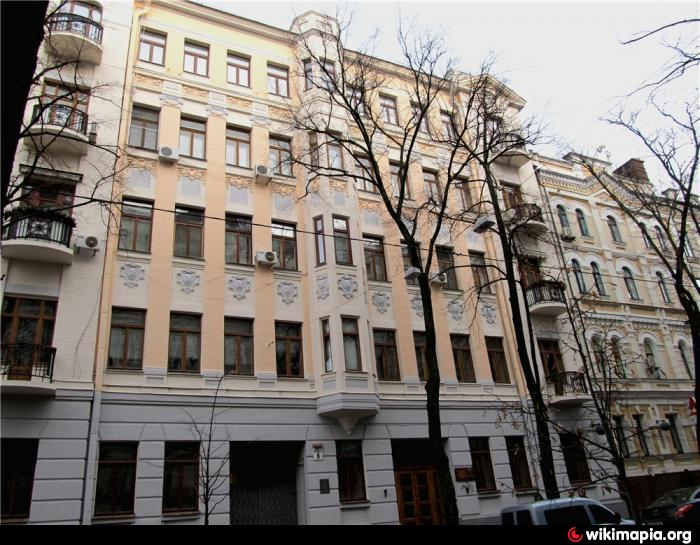 Улица Десятинная, 8, Киев