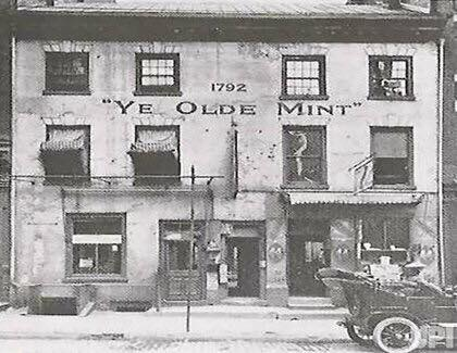 Здание первого монетного двора в Филадельфии
