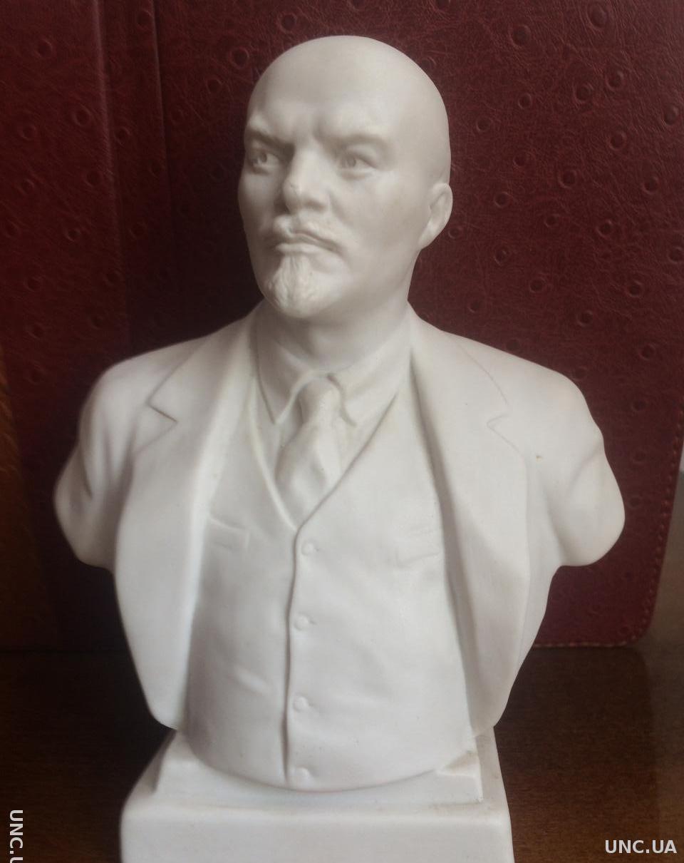 Фарфоровый бюст Ленина
