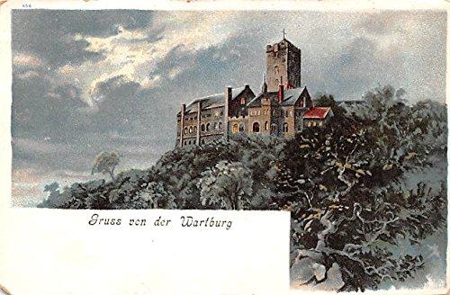 Gruss von der Wartburg Switzerland Postcard