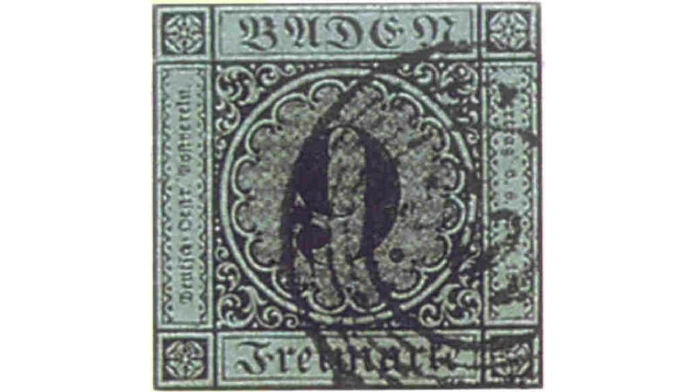 «Baden 9 Kreuzer», 1851 год